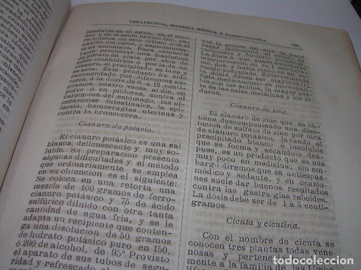 Libros antiguos: FARMACOLOGIA DE LOS MEDICAMENTOS - TERAPEUTICA - MATERIA MEDICA....AÑO..1.882 - Foto 23 - 92037880