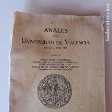 Libros antiguos: UNIVERSIDAD DE VALENCIA 1928, ORIENTACION QUIRURGICA, POR ENRIQUE LOPEA SANCHO CATEDRATICO MEDICINA. Lote 92181915