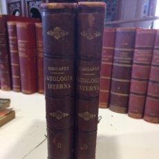 Libros antiguos: MANUAL DE PATOLOGIA INTERNA TOMOS II Y III. Lote 92859867