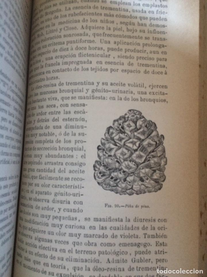 Libros antiguos: Tratado de la materia medica Dr.J.B Fonssagrives - Foto 5 - 92862268