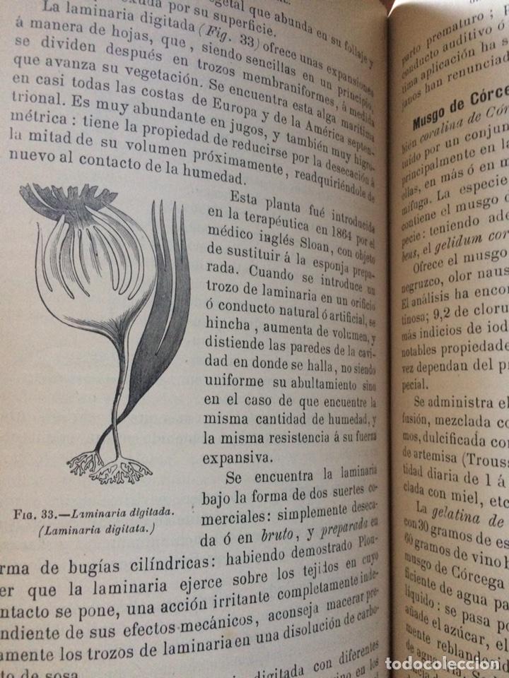Libros antiguos: Tratado de la materia medica Dr.J.B Fonssagrives - Foto 8 - 92862268