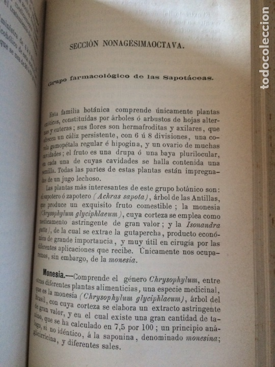 Libros antiguos: Tratado de la materia medica Dr.J.B Fonssagrives - Foto 12 - 92862268