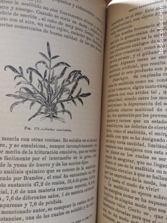 Libros antiguos: Tratado de la materia medica Dr.J.B Fonssagrives - Foto 15 - 92862268