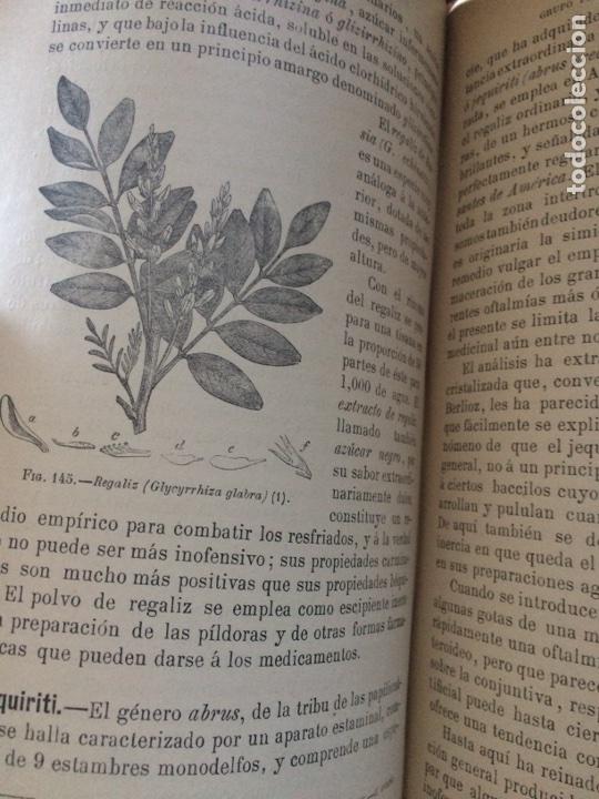 Libros antiguos: Tratado de la materia medica Dr.J.B Fonssagrives - Foto 20 - 92862268