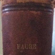 Libros antiguos: LECONS CLINIQUE ET DE TECHNIQUE CHIRURGICALES 1903. Lote 92887073