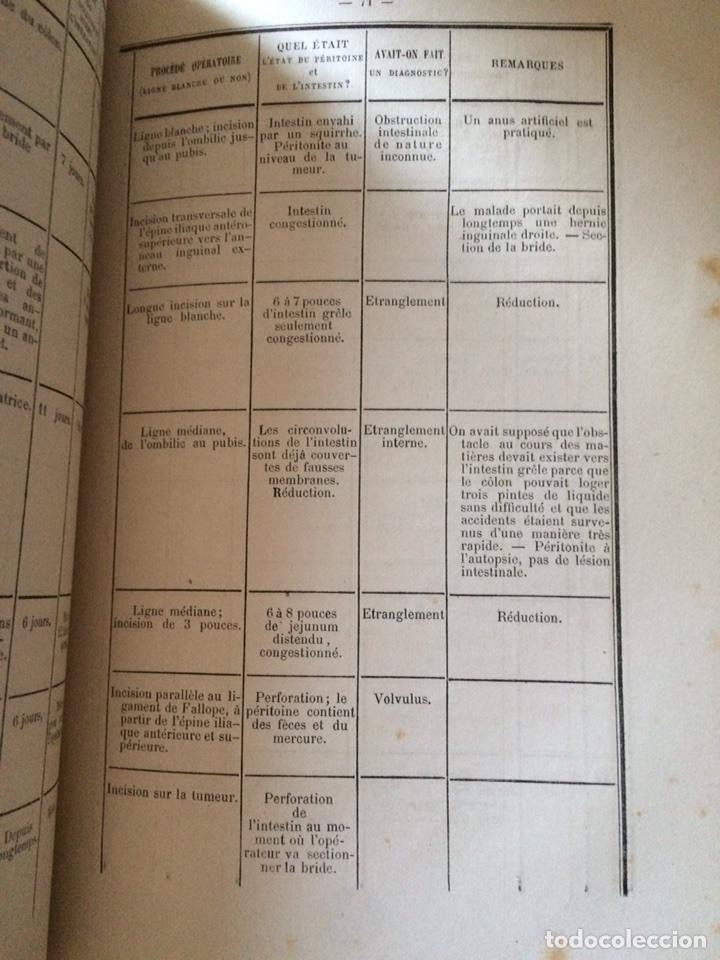 Libros antiguos: De Lintervention Chirurgicale Lobstruction intestinable JJ Peyrot - Foto 9 - 92887668