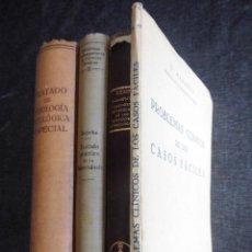 Libros antiguos: 4 LIBROS DE MEDICINA, AÑOS 1923-1937: TUBERCULOSIS, FISIOLOGÍA, GINECOLOGÍA, LIBRO GREGORIO MARAÑÓN. Lote 93369945