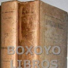 Libros antiguos: GARCÍA LÓPEZ, ANASTASIO. HIDROLOGÍA MÉDICA. TOMOS I Y II. Lote 93978544