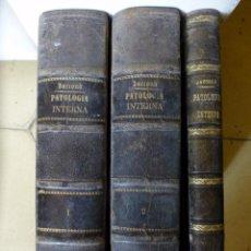 Libros antiguos: TRATADO DE PATOLOGÍA INTERNA POR J. JACCOUD 1875 2ª EDICIÓN 3 TOMOS. Lote 94951847