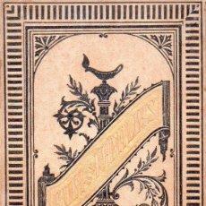 Libros antiguos: CIRERA SAMPERE :GUÍA DE LAS FAMILIAS, PRECEPTOS HIGIÉNICOS PARA LA MUJER Y EL NIÑO (ULLASTRES, 1888). Lote 95157731