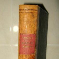 Libros antiguos: MANUAL PRÁCTICO DE MEDICINA INTERNA.DR.A.VON DOMARUS.MANUEL MARÍN EDITOR 1930.BCN. Lote 95164999