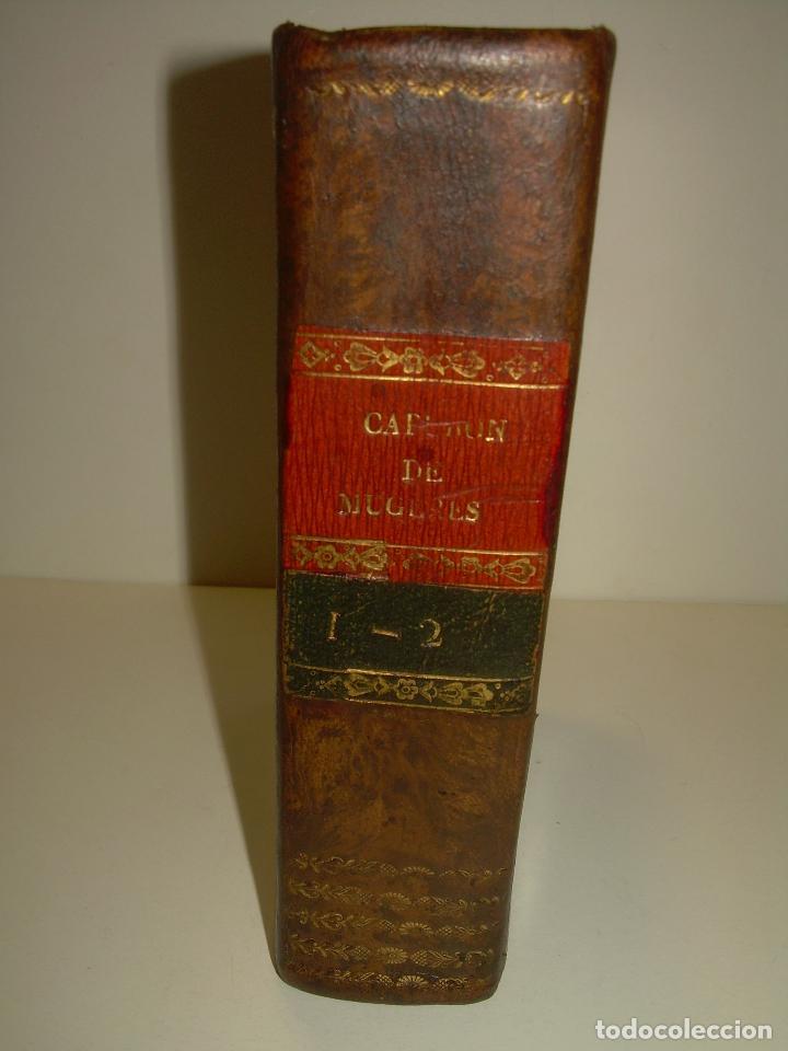 Libros antiguos: TRATADO DE LAS ENFERMEDADES DE LA MUGERES..TAPAS DE PIEL....AÑO.1.821...DOS TOMOS EN UN MISMO LIBRO. - Foto 4 - 95412375
