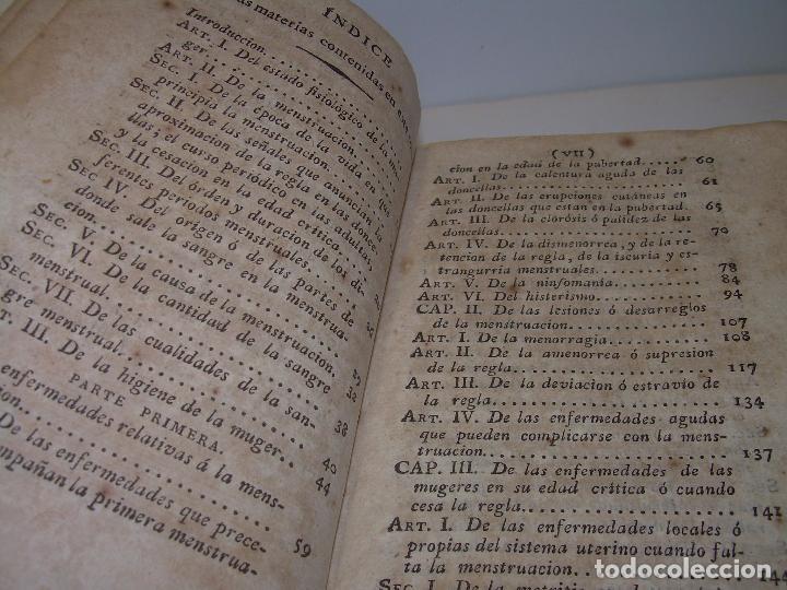Libros antiguos: TRATADO DE LAS ENFERMEDADES DE LA MUGERES..TAPAS DE PIEL....AÑO.1.821...DOS TOMOS EN UN MISMO LIBRO. - Foto 6 - 95412375