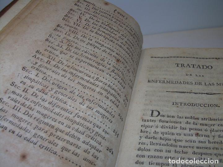 Libros antiguos: TRATADO DE LAS ENFERMEDADES DE LA MUGERES..TAPAS DE PIEL....AÑO.1.821...DOS TOMOS EN UN MISMO LIBRO. - Foto 7 - 95412375