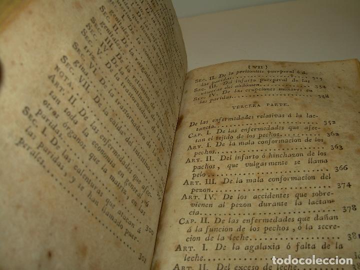 Libros antiguos: TRATADO DE LAS ENFERMEDADES DE LA MUGERES..TAPAS DE PIEL....AÑO.1.821...DOS TOMOS EN UN MISMO LIBRO. - Foto 10 - 95412375