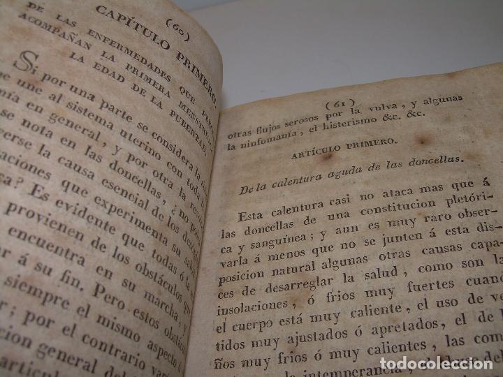 Libros antiguos: TRATADO DE LAS ENFERMEDADES DE LA MUGERES..TAPAS DE PIEL....AÑO.1.821...DOS TOMOS EN UN MISMO LIBRO. - Foto 11 - 95412375