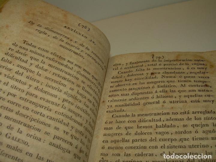 Libros antiguos: TRATADO DE LAS ENFERMEDADES DE LA MUGERES..TAPAS DE PIEL....AÑO.1.821...DOS TOMOS EN UN MISMO LIBRO. - Foto 12 - 95412375