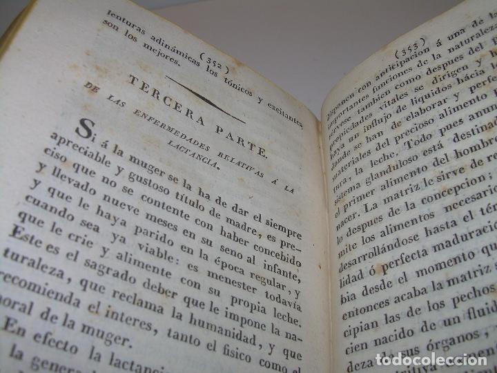 Libros antiguos: TRATADO DE LAS ENFERMEDADES DE LA MUGERES..TAPAS DE PIEL....AÑO.1.821...DOS TOMOS EN UN MISMO LIBRO. - Foto 14 - 95412375