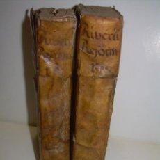 Libros antiguos: DOS TOMOS DE MEDICINA.... TAPAS DE PERGAMINO..AÑO. 1.712...PRAXIS MEDICA.. Lote 95412871