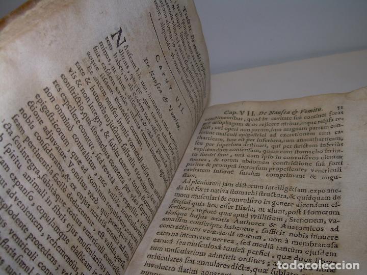 Libros antiguos: DOS TOMOS DE MEDICINA.... TAPAS DE PERGAMINO..AÑO. 1.712...PRAXIS MEDICA. - Foto 7 - 95412871