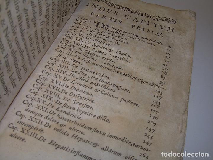 Libros antiguos: DOS TOMOS DE MEDICINA.... TAPAS DE PERGAMINO..AÑO. 1.712...PRAXIS MEDICA. - Foto 12 - 95412871