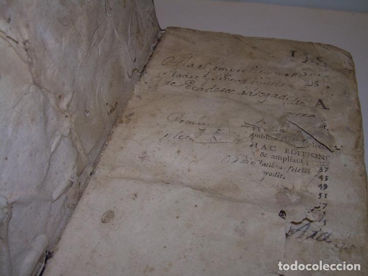 Libros antiguos: DOS TOMOS DE MEDICINA.... TAPAS DE PERGAMINO..AÑO. 1.712...PRAXIS MEDICA. - Foto 15 - 95412871
