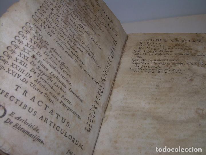Libros antiguos: DOS TOMOS DE MEDICINA.... TAPAS DE PERGAMINO..AÑO. 1.712...PRAXIS MEDICA. - Foto 17 - 95412871