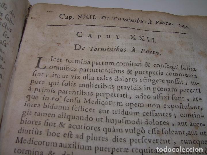 Libros antiguos: DOS TOMOS DE MEDICINA.... TAPAS DE PERGAMINO..AÑO. 1.712...PRAXIS MEDICA. - Foto 21 - 95412871