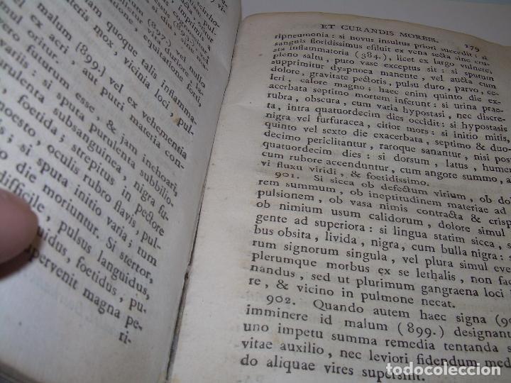 Libros antiguos: LIBRO TAPAS PERGAMINO....MEDICINA...APHORISIMI CURANDIS MORBIS...AÑO.1.791 - Foto 16 - 95415891