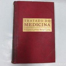 Libros antiguos - TRATADO DE MEDICINA TOMO PRIMERO- DR. E. ENRIQUEZ- SALVAT Y Cª, S EN C, EDITORES - 96815587