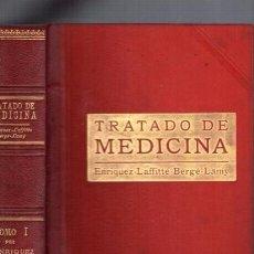 Libros antiguos: TRATADO DE MEDICINA - SALVAT Y CIA / OBRA COMPLETA 4 VOLS. BARCELONA. Lote 96893039