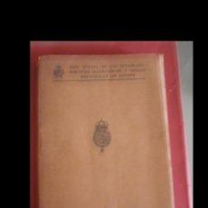 Libros antiguos: GUIA OFICIAL DE LOS ESTABLECIMIENTOS BALNEARIOS Y AGUAS MEDICINALES DE ESPAÑA, 1927. Lote 97318363