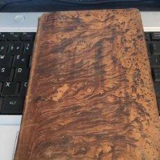 Libros antiguos: VENENOS MANUAL MÉDICO LEGAL. MADRID 1833.MONTMAHOU. 20 LAMINAS GRABADAS. DOS REGISTROS CCPBE ANTIGUO. Lote 98061851