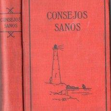 Libros antiguos: JEFFERIS Y NICHOLS : CONSEJOS SANOS PARA ECHAR LUZ EN LA OBSCURIDAD DE LA CIENCIA SEXUAL (1920). Lote 98781271