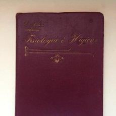 Libros antiguos: NOCIONES DE ANATOMIA Y FISIOLOGIA HUMANA- EMILIO RIBERA GOMEZ. Lote 99625175