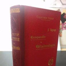 Livres anciens: COMPENDIO DE OFTALMOLOGÍA. F LAGRANGE (COLECCIÓN TESTUT). FINALES XIX. Lote 100467819
