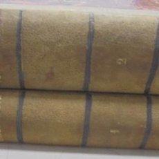 Libros antiguos: MEDICINA LEGAL Y TOXICOLOGIA. DOS TOMOS. GRABADOS. MOYA Y PLAZA, MADRID. 1872. VER. LEER. Lote 100488823