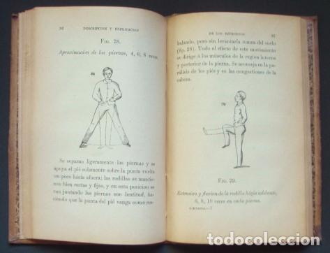 Libros antiguos: SCHREBER : Manual popular de gimnasia de sala médica e higiénica, 1895 - Foto 3 - 99915419