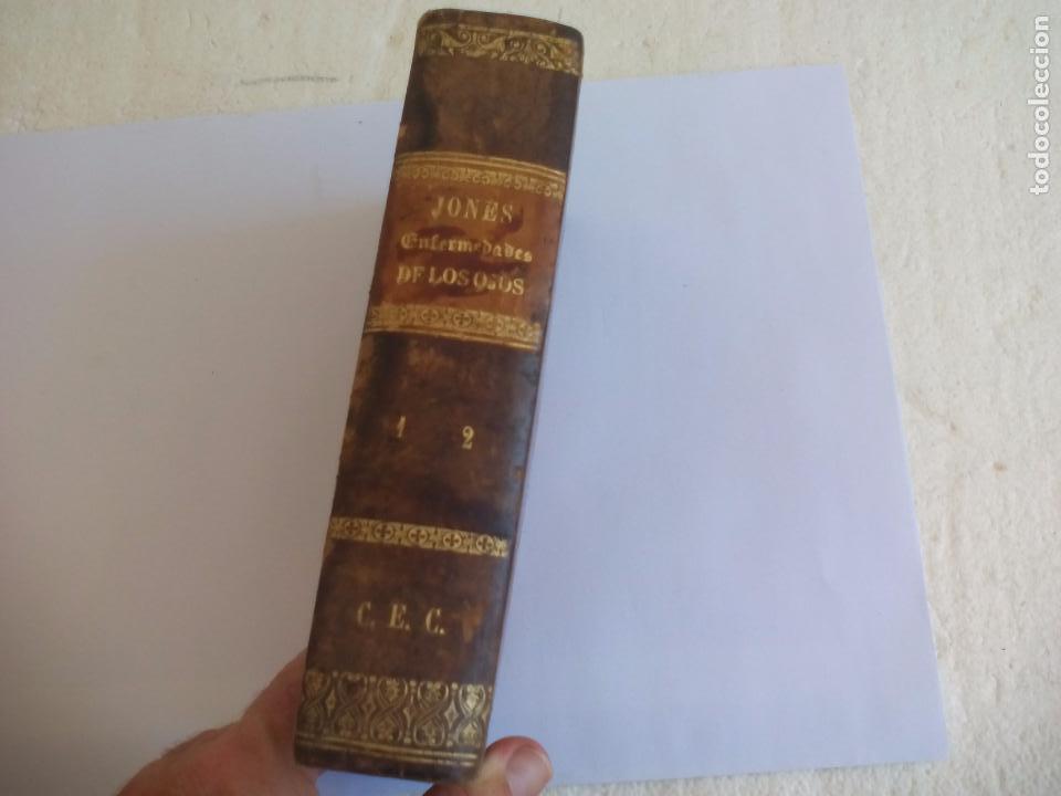 TRATADO PRÁCTICO DE LAS ENFERMEDADES DE LOS OJOS. - T. WHARTON-JONES. 1862. 1ª EDICIÓN (Libros Antiguos, Raros y Curiosos - Ciencias, Manuales y Oficios - Medicina, Farmacia y Salud)
