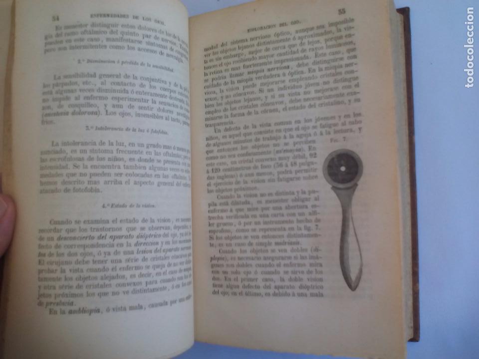 Libros antiguos: Tratado práctico de las enfermedades de los ojos. - T. Wharton-Jones. 1862. 1ª edición - Foto 3 - 100695475