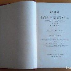 Libros antiguos: MANUAL DE IATRO-GIMNASIA. DR. MAX HERZ CON 209 GRABADOS. HEREDEROS DE JUAN GILI 1907. Lote 100709691
