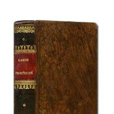 Libros antiguos: MR. LE ROY.– CASOS PRÁCTICOS ENTRESACADOS DE LA MEDICINA CURATIVA [...] 1829. PLENA PIEL. Lote 101618571