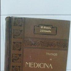 Libros antiguos: TRATADO DE MEDICINA CLINICA Y TERAPEUTICA TOMO I APARATO RESPIRATORIO Y CORAZON. Lote 101926327