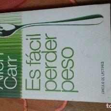 Libros antiguos: ES FÁCIL PERDER PESO. Lote 103068971