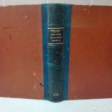 Libros antiguos: MANUAL DE ANATOMIA PATOLOGICA SANTIAGO RAMON Y CAJAL ILUSTRADO. Lote 103082871