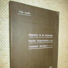 Libros antiguos: FÉLIX LANDIN DIAGNÓSTICO DE LAS COLECCIONES LÍQUIDAS INTRAPERICÁRDICAS Y TRATAMIENTO QUIRÚRGICO 1915. Lote 103143751