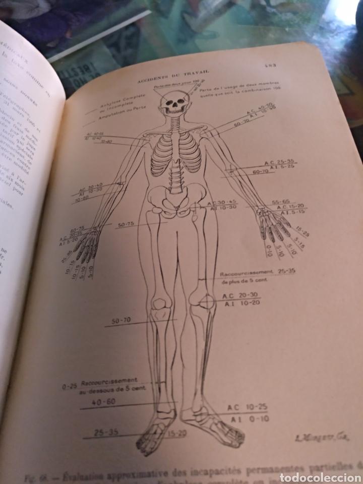Libros antiguos: Precis de medicene legale A.Lacassagne 1906 - Foto 3 - 103900787
