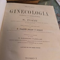 Libros antiguos: TRATADO DE GINECOLOGÍA POZZI. Lote 103930742