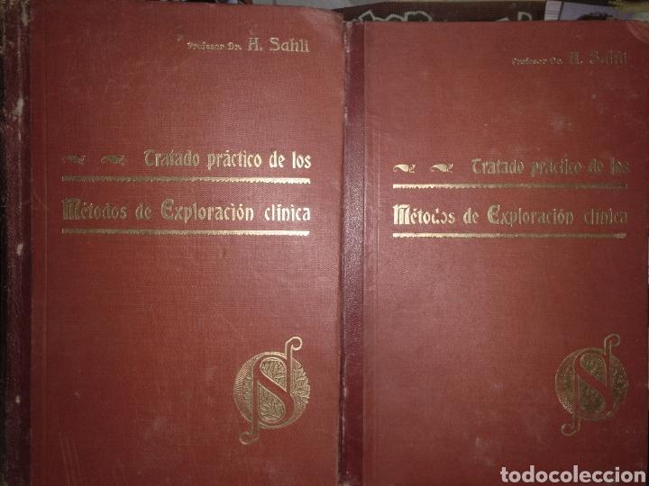 S MÉTODOS DE EXPLORACIÓN CLÍNICA (Libros Antiguos, Raros y Curiosos - Ciencias, Manuales y Oficios - Medicina, Farmacia y Salud)