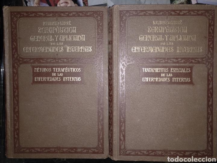 OS. TRATAMIENTO ESPECIALES DE LAS ENFERMEDADES INTERNAS PABLO KRAUSER Y CARLOS GARRE TOMO 1 Y2 (Libros Antiguos, Raros y Curiosos - Ciencias, Manuales y Oficios - Medicina, Farmacia y Salud)